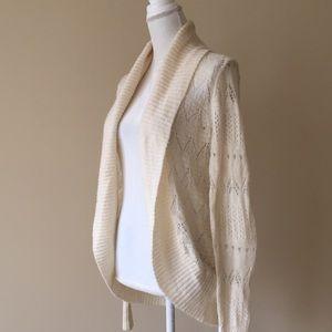 LC Wispy Crochet Cardigan